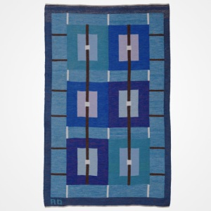 Swedish Flat Weave Carpet by Agda Osterberg at GoodDesignShop.co